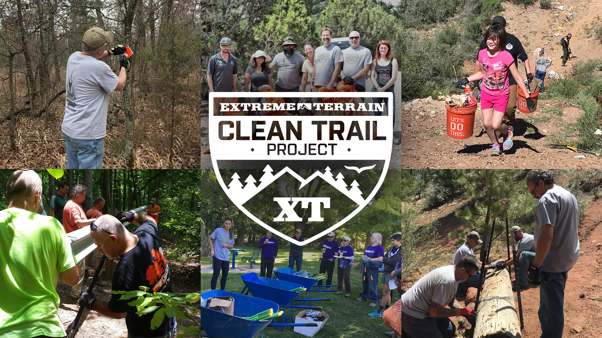 Clean Trail Collage