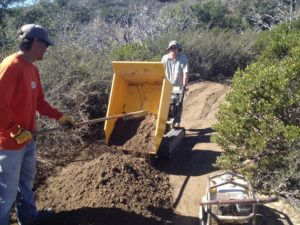 Volunteer for Trail Work
